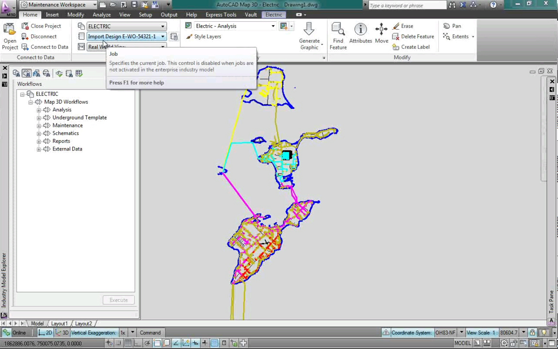 Software inginerie si GIS - Autodesk AutoCAD Map 3D AUTODESK - Poza 16