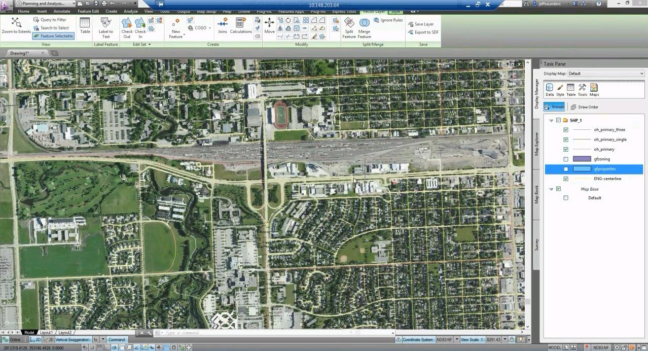 Software inginerie si GIS - Autodesk AutoCAD Map 3D AUTODESK - Poza 22