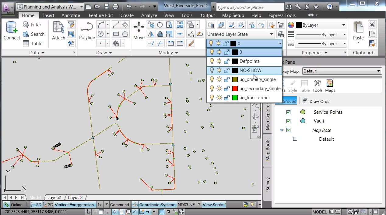 Software inginerie si GIS - Autodesk AutoCAD Map 3D AUTODESK - Poza 27