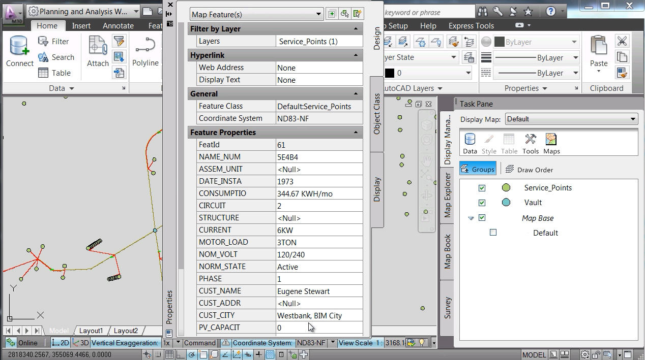 Software inginerie si GIS - Autodesk AutoCAD Map 3D AUTODESK - Poza 28