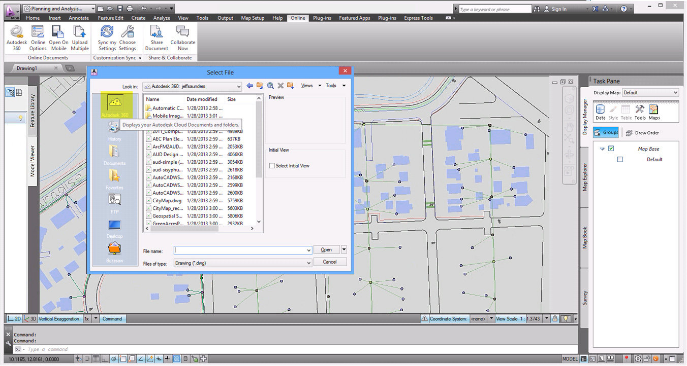 Software inginerie si GIS - Autodesk AutoCAD Map 3D AUTODESK - Poza 38