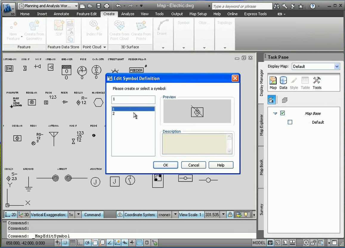 Software inginerie si GIS - Autodesk AutoCAD Map 3D AUTODESK - Poza 46
