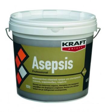 Prezentare produs Vopsea lavabila Asepsis KRAFT Paints - Poza 1