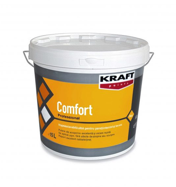 Vopsea lavabila Comfort KRAFT Paints - Poza 3