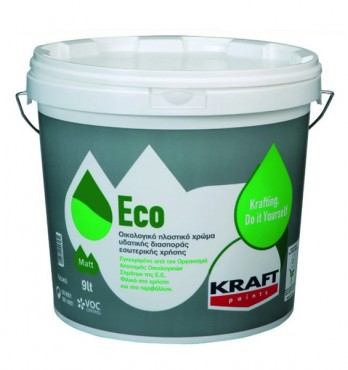Prezentare produs Vopsea lavabila Eco KRAFT Paints - Poza 5