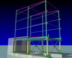 Proiectari structuri metalice Biroul nostru este specializat in proiectarea constructiilor metalice.Nu exista limite de imaginatie pentru proiectarea constructiilor metalice. Proiectarea constructiilor metalice va fi realizata de noi in timp record, iar avantajul clientului se va regasi in costuri mai mici cu materialul pus in opera, siguranta sporita in exploatare a a constructiei, montajul precis si rapid al structurii pe santier, executia usoara si fara erori a confectiei metalice in uzina.