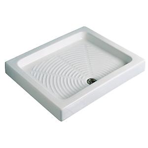 Cadita de dus din ceramica - Dreptunghiulara ITALBOX - Poza 1