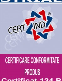 Certificat nr.124 P