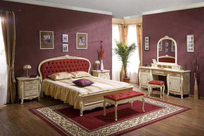 Mobila dormitor lemn masiv CASA MOBILA SIMEX - Poza 1