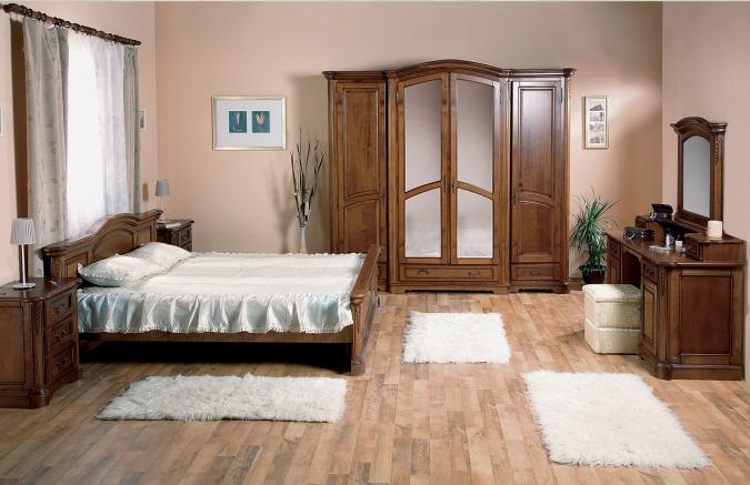 Mobila dormitor lemn masiv CASA MOBILA SIMEX - Poza 129