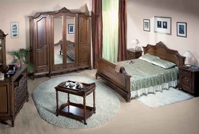 Mobila dormitor lemn masiv CASA MOBILA SIMEX - Poza 139