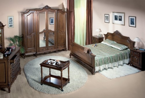 Prezentare produs Mobila dormitor lemn masiv CASA MOBILA SIMEX - Poza 139