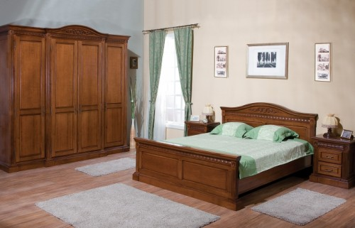 Prezentare produs Mobila dormitor lemn masiv CASA MOBILA SIMEX - Poza 1