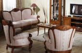 Mobilier din lemn masiv pentru holuri SIMEXva invita sa descoperiti un ansamblu de mobila clasica pentru hol din lemn masiv, prelucrat in mod traditional.