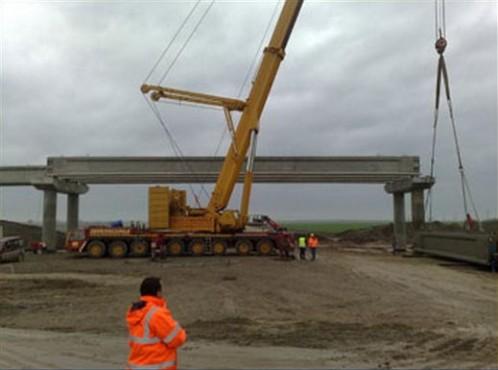 Lucrari, proiecte Poduri FERROBETON - Poza 4