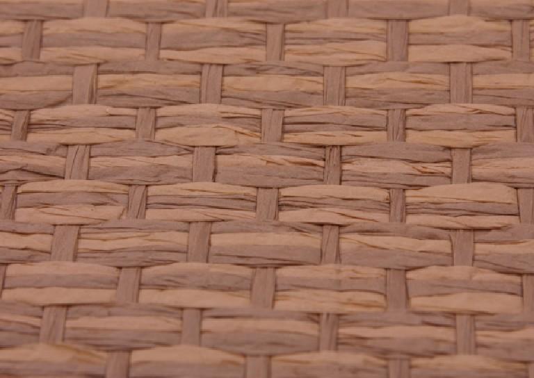 Tapet din fibre naturale - hartie, bumbac si hartie  RODEKA - Poza 1