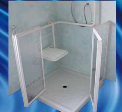 Exemple de utilizare Cabine de dus pentru persoane cu handicap CIVITA CROMO - Poza 2