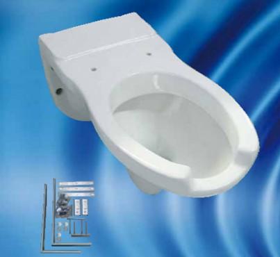 Prezentare produs Obiecte sanitare suspendate pentru persoane cu handicap CIVITA CROMO - Poza 1