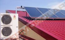 Panouri solare Pachetul cu pompa de caldura Zubadan si sistem solar cu aport la incalzire 500 (pachet complet incalzire ecologica) este un sistem complex cu pompa de caldura si sistem solar cu aport la incalzire.Componenta sistem:4 panouri solare plane,suporti fixare paralel cu acoperisul,tanc stocator de 500L,automatizare solara cu senzori,statie solara de pompare,vas expansiune solar,antigel solar,modul preparare acm de pana la 40l/min,pompa de caldura Zubadan HRP71.