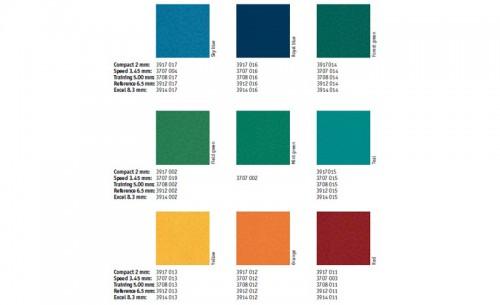 Paletare si texturi Paletar Omnisport Excel TARKETT - Poza 15