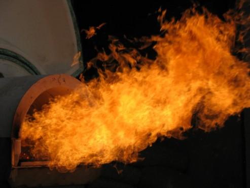 Arzator industrial cu functionare automata pe pellet PELLTECH - Poza 3