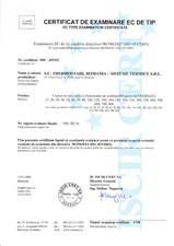 Certficat ENP THERMOSTAHL