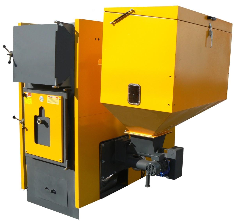 Generator aer cald cu functionare pe lemne-biomasa Solidvent THERMOSTAHL - Poza 1