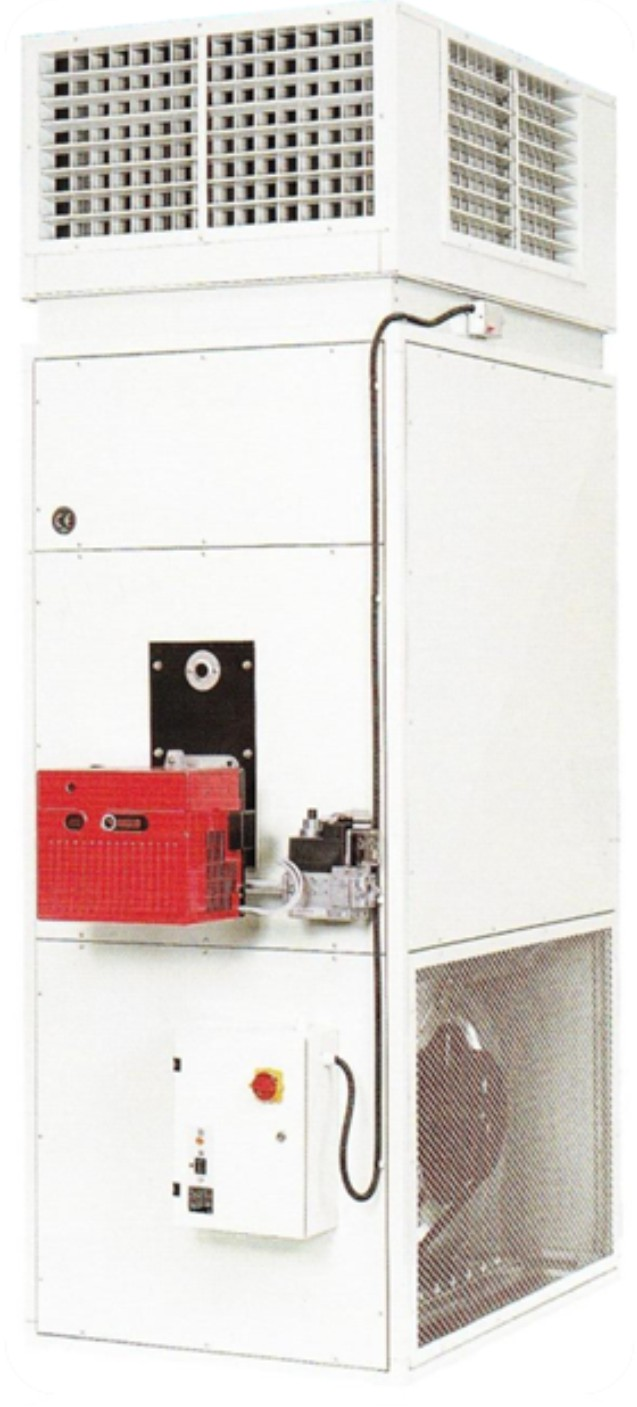 Generator de aer cald cu functionare pe combustibil gazoslichid Enervent THERMOSTAHL - Poza 2