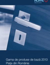 Manere pentru usi si fereastre - Gama de produse de baza 2013