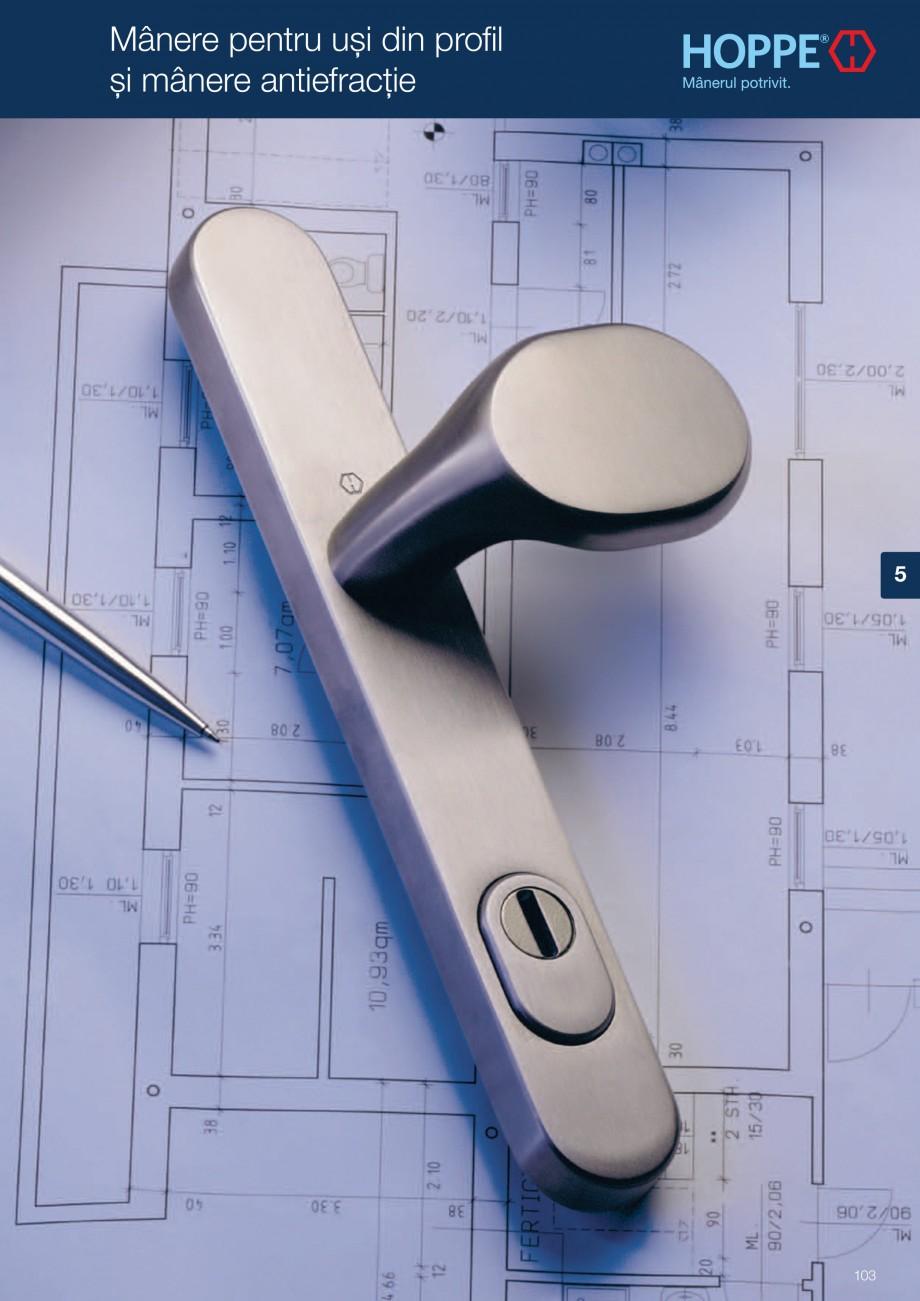 Pagina 103 - Manere pentru usi si fereastre - Gama de produse de baza 2013 HOPPE Acapulco M1558, Las...