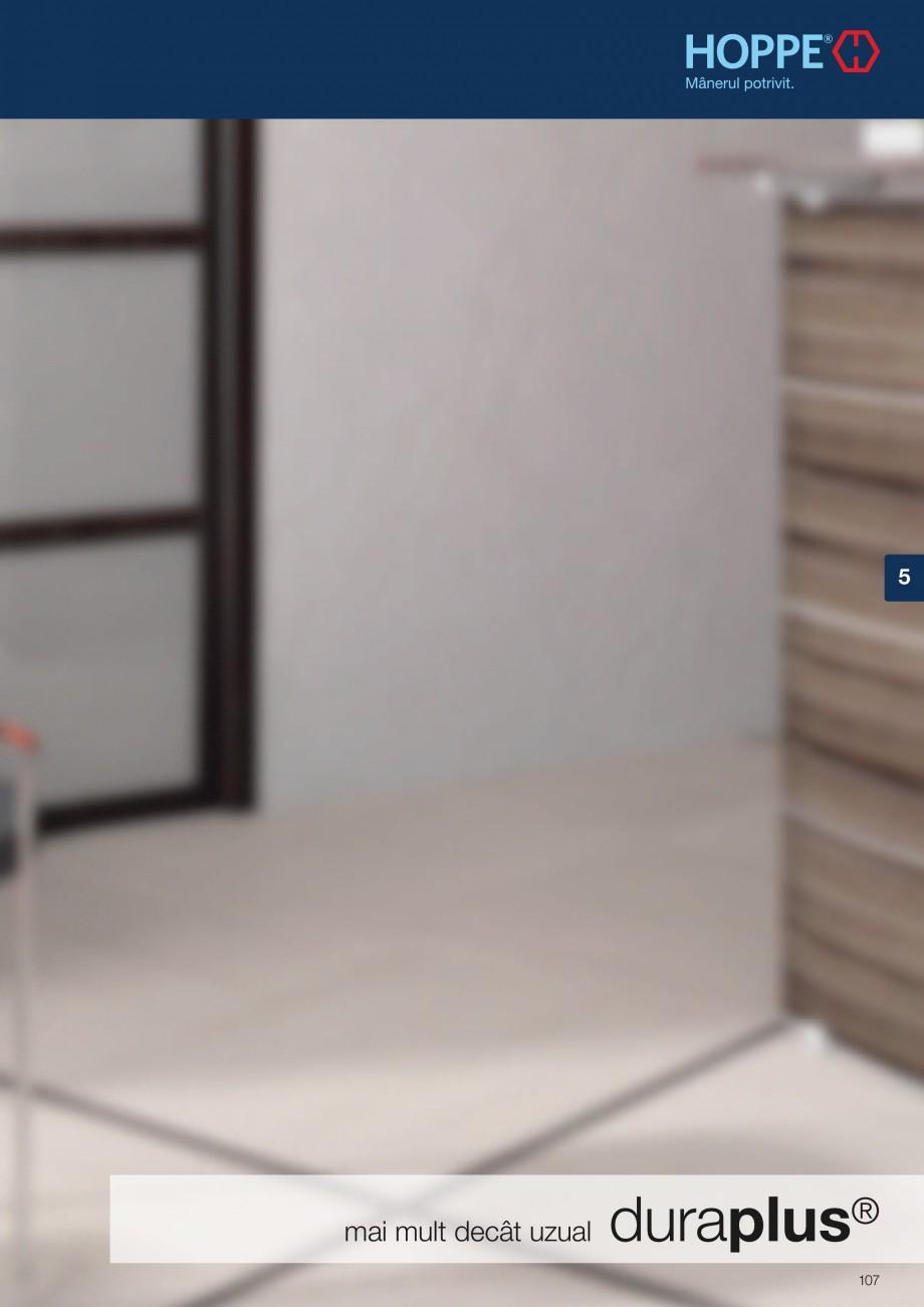 Pagina 107 - Manere pentru usi si fereastre - Gama de produse de baza 2013 HOPPE Acapulco M1558, Las...