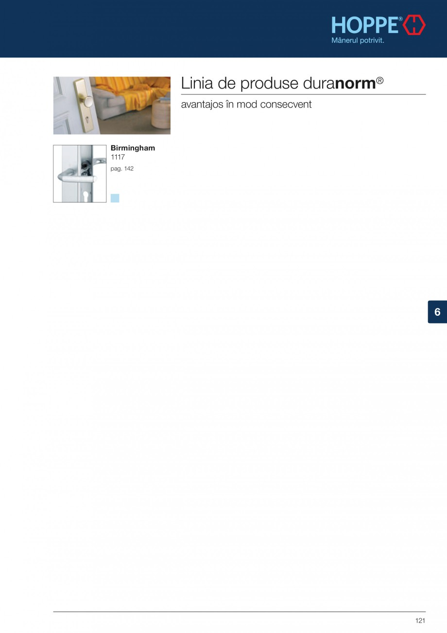 Pagina 121 - Manere pentru usi si fereastre - Gama de produse de baza 2013 HOPPE Acapulco M1558, Las...