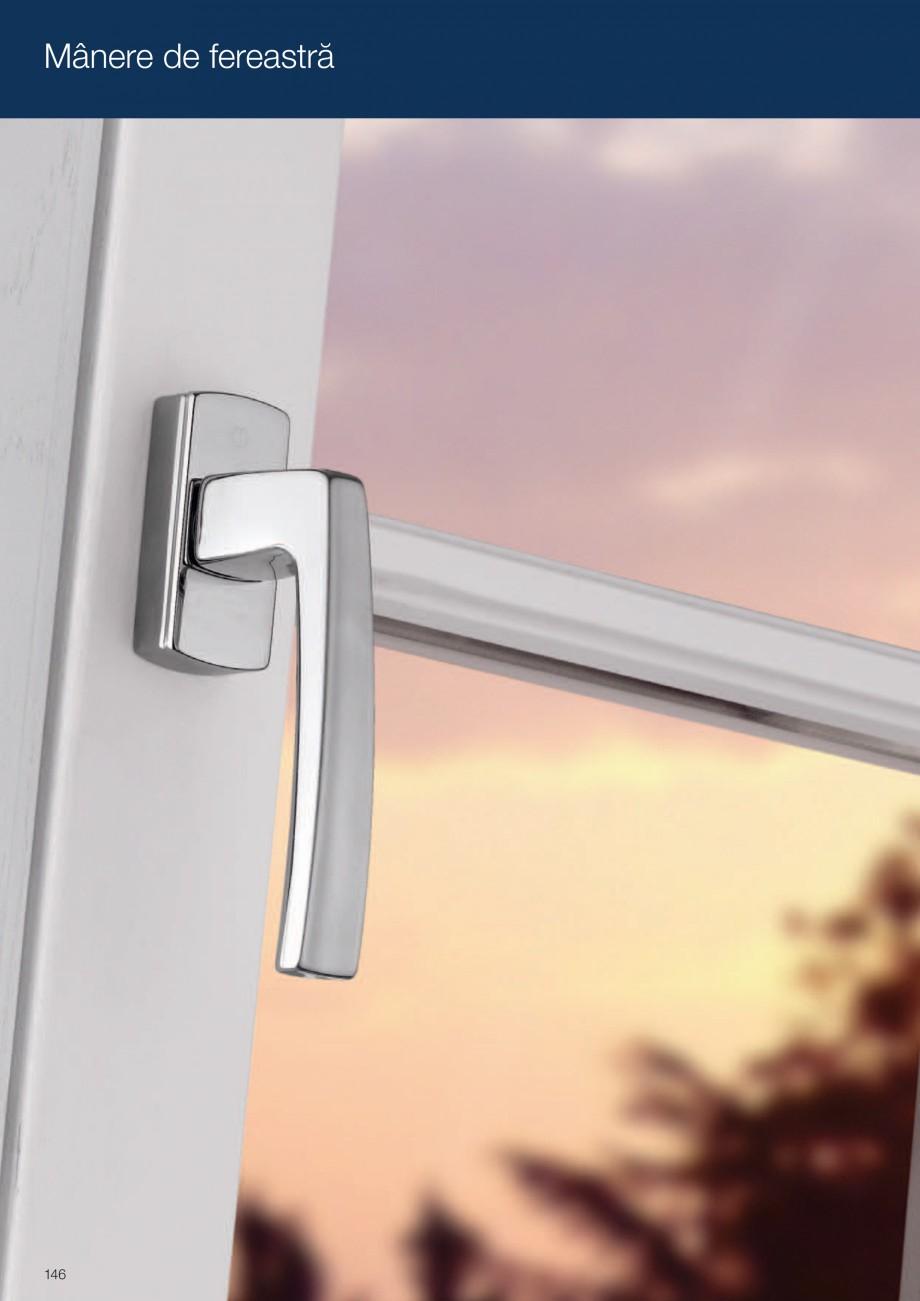 Pagina 146 - Manere pentru usi si fereastre - Gama de produse de baza 2013 HOPPE Acapulco M1558, Las...