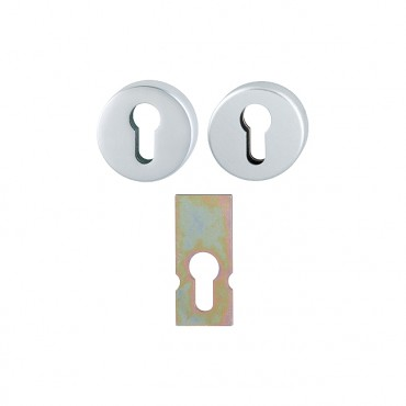 Prezentare produs Set de rozete antiefractie din aluminiu HOPPE - Poza 12