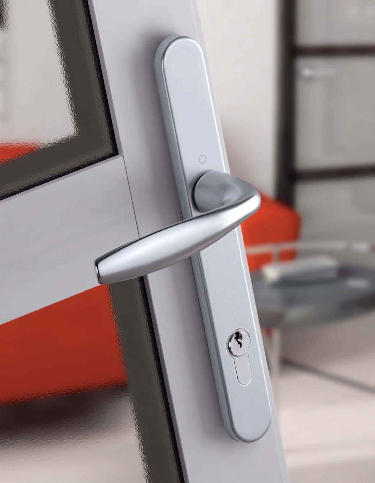 Manere pentru usi din profil si manere antiefractie HOPPE - Poza 1