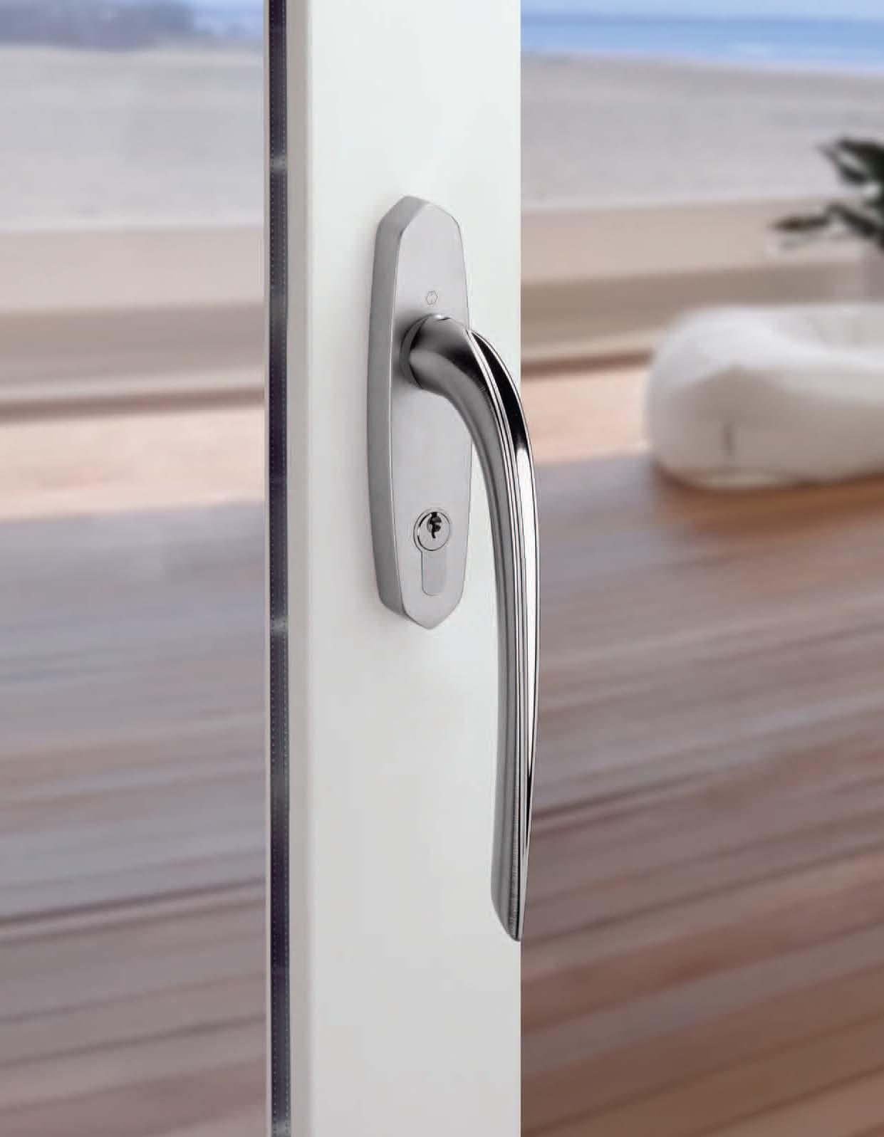 Set de manere pentru usa glisanta cu ridicare HOPPE - Poza 1