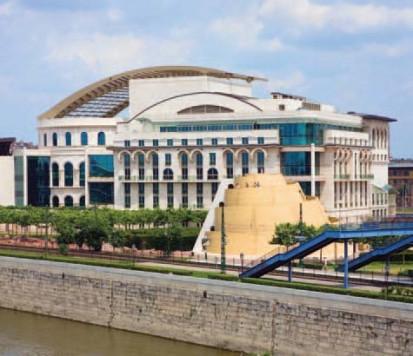 Proiecte de referinta internationale (selectie) / Palast der Künste - Budapesta