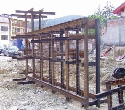 Amenajarea versantilor - Zid de sprijin - Terasare - Hotel Carmen Predeal  - Poza 2