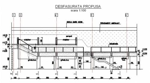 Amenajarea versantilor - Zid de sprijin - Terasare - Hotel Carmen Predeal  - Poza 3
