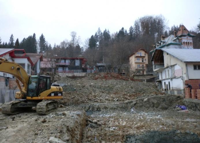 Amenajarea versantilor - Zid de sprijin - Terasare - Hotel Carmen Predeal  - Poza 6