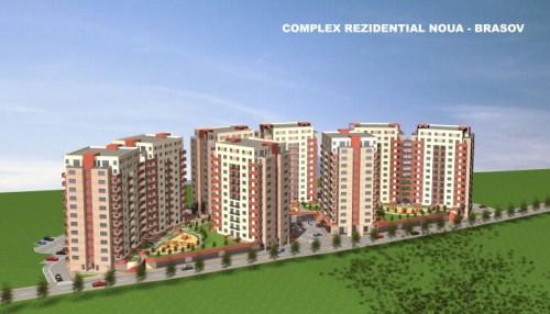 Ansamblu rezidential 5 blocuri D + P + 10 E + M Str. Stejarului Noua Brasov, 2008-2009  - Poza 1