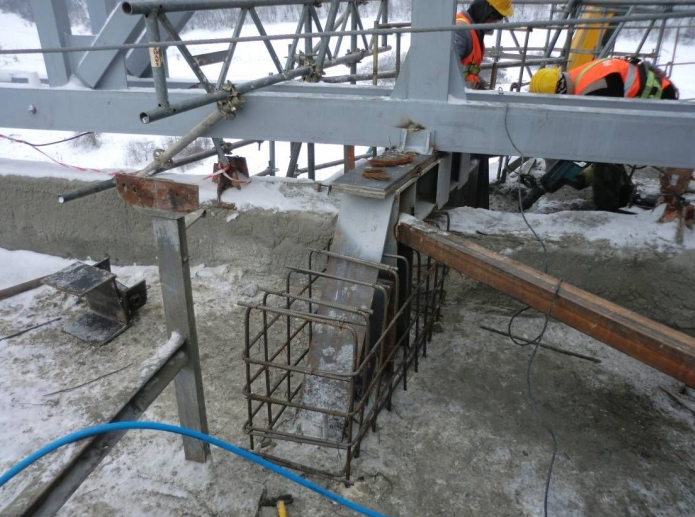 Consolidare planseu capac la silozul de klinker - Lafarge Hoghiz  - Poza 6