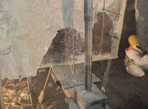 Consolidare planseu capac la silozul de klinker - Lafarge Hoghiz  - Poza 7