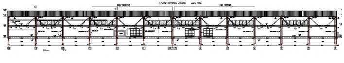 Copertina hala vopsitorie - Fabrica Rouleau Guichard - Sacele, Brasov, 2004  - Poza 1