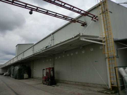 Copertina hala vopsitorie - Fabrica Rouleau Guichard - Sacele, Brasov, 2004  - Poza 4