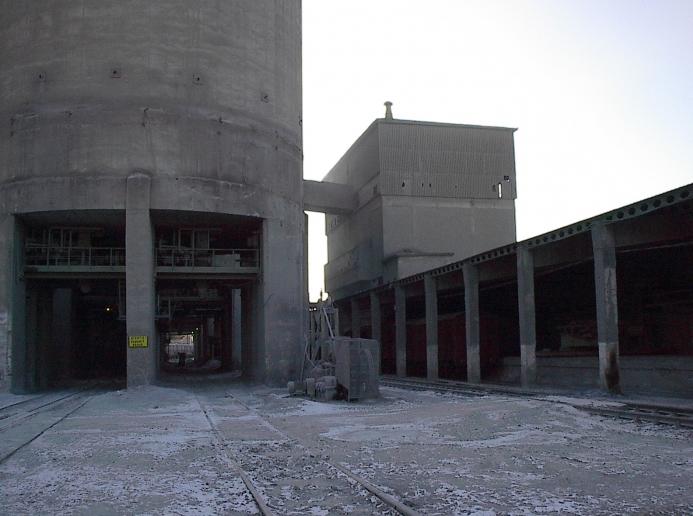 Linia de insacuire, paletizare si expeditie ciment, Lafarge-Romcim Hoghiz - Feb - Sept. 2003  - Poza 1