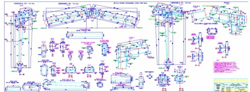 Linia de insacuire, paletizare si expeditie ciment, Lafarge-Romcim Hoghiz - Feb - Sept. 2003  - Poza 5