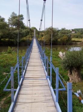 Pasarela acces - Mandra, Brasov, 2004  - Poza 6
