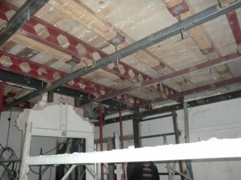 Proiect de consolidare a imobilului de pe Str. Mr. Cranta (recompartimentare + sustinere planseu de lemn)  - Poza 3