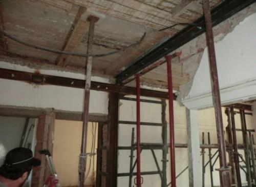 Proiect de consolidare a imobilului de pe Str. Mr. Cranta (recompartimentare + sustinere planseu de lemn)  - Poza 4